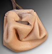 Skinn bag