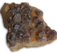 Lila Fluorit kluster