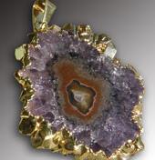 Amethyst Stalactite pendant
